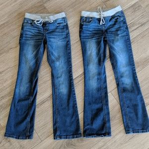 Justice Bootcut Jeans 10 Slim